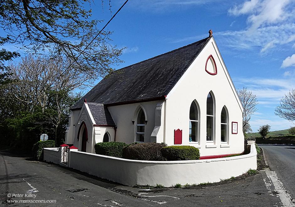 Barregarrow Wesleyan Chapel © Peter Killey - www.manxscenes.com