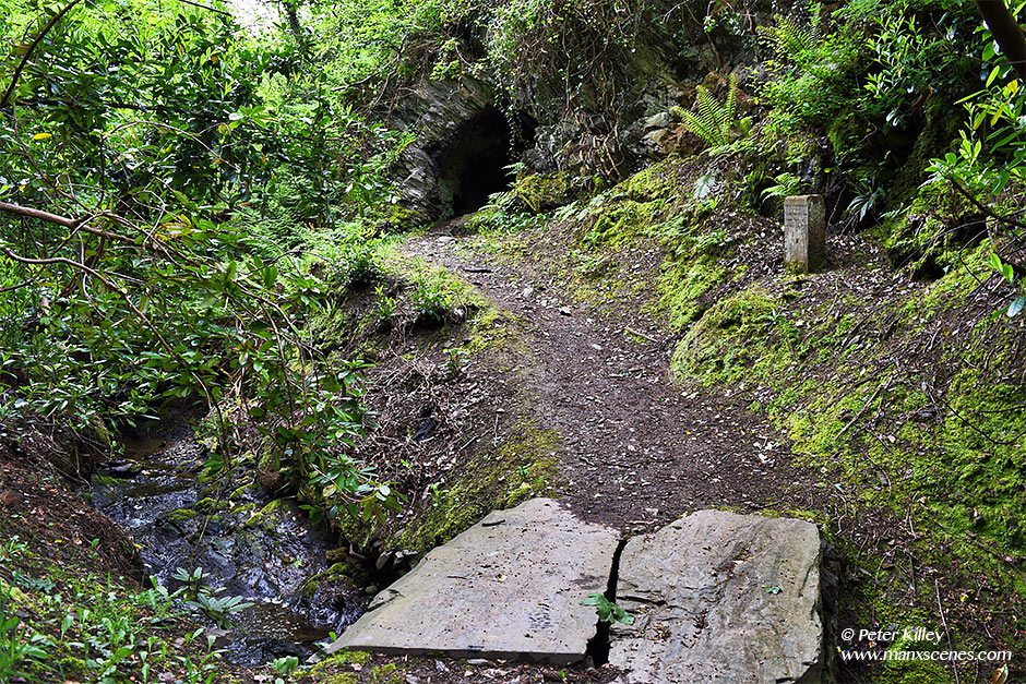 Bishopscourt Cave © Peter Killey - www.manxscenes.com