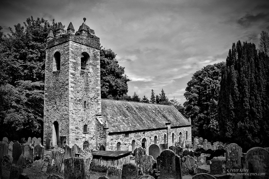 Old Kirk Braddan Church © Peter Killey - www.manxscenes.com