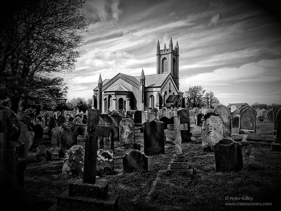 Kirk Michael Church © Peter Killey - www.manxscenes.com