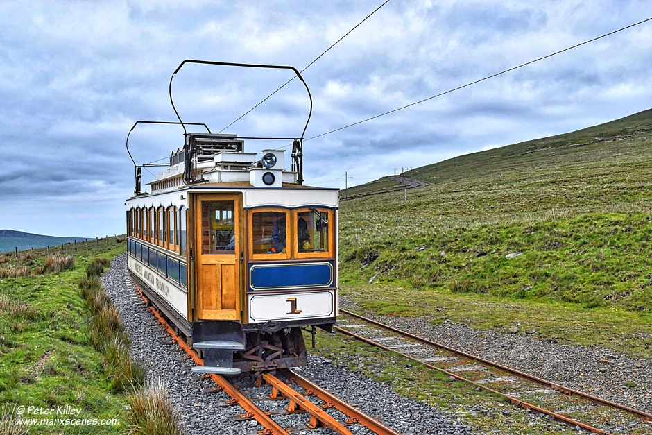 Electric Tram No 1 © Peter Killey - www.manxscenes.com