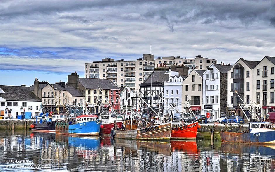 Ramsey Fishing Fleet © Peter Killey - www.manxscenes.com