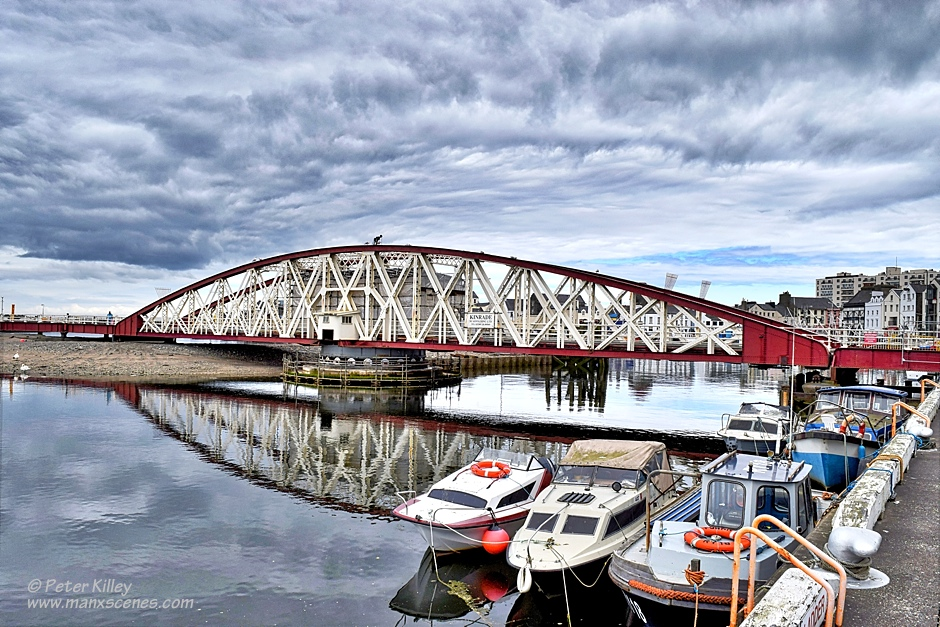 Ramsey Swing Bridge © Peter Killey - www.manxscenes.com