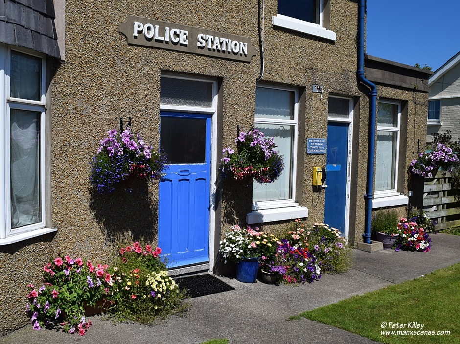 Andreas Police Station © Peter Killey - www.manxscenes.com