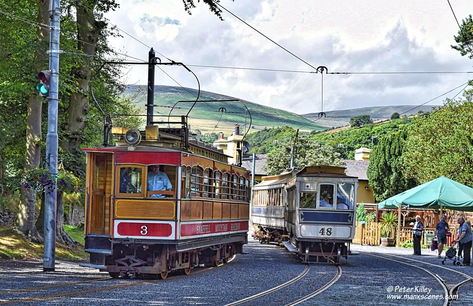 Laxey Station © Peter Killey - www.manxscenes.com