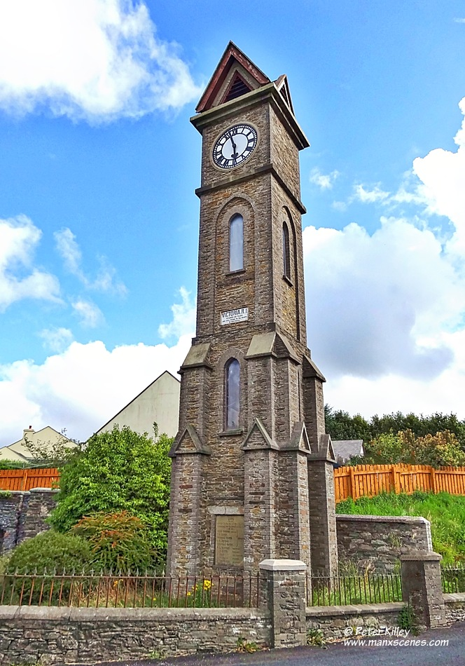 Foxdale Clock Tower © Peter Killey - manxscenes.com