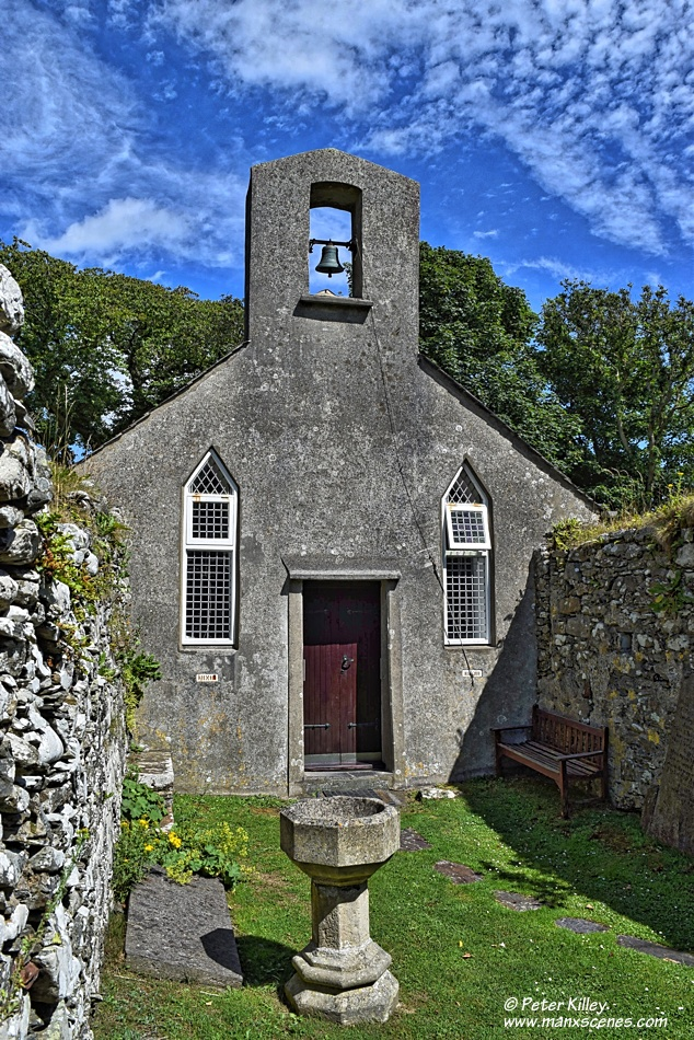 Old Kirk Lonan © Peter Killey - manxscenes.com