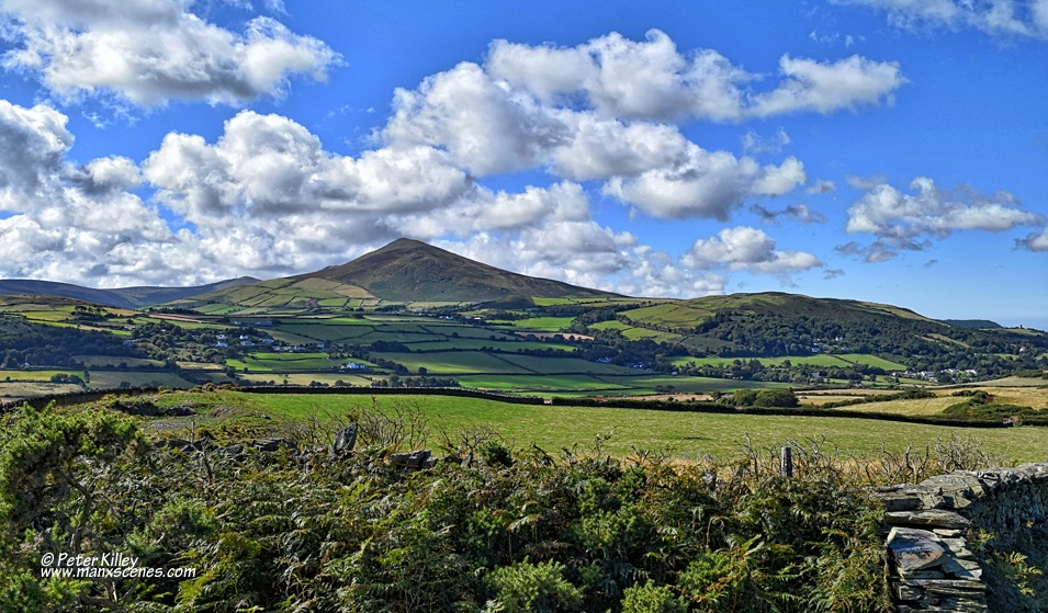 North Barrule from the Brooghs © Peter Killey - www.manxscenes.com
