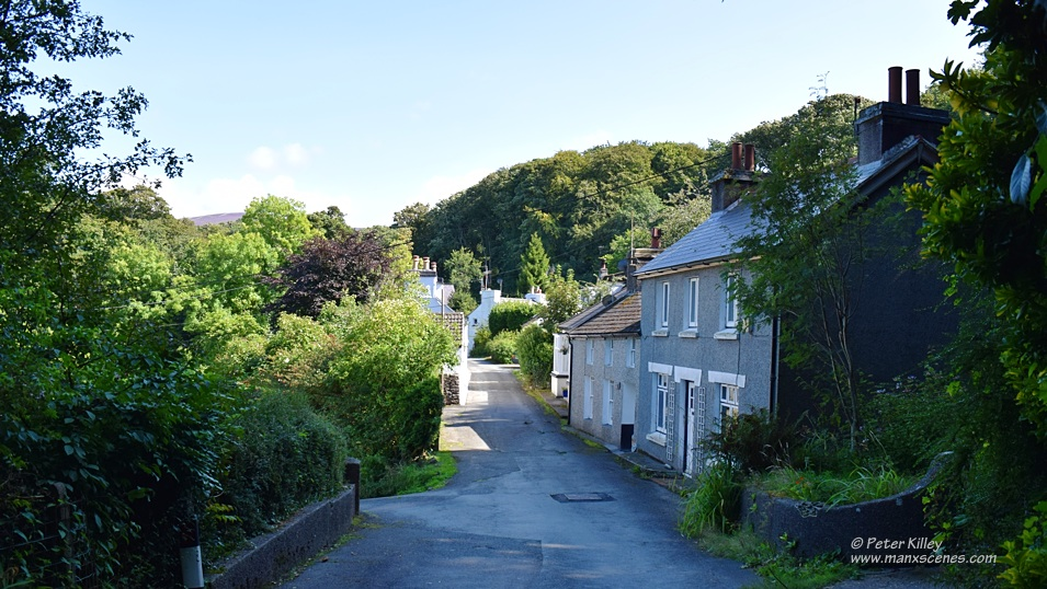 Glen Wyllin Village © Peter Killey - www.manxscenes.com