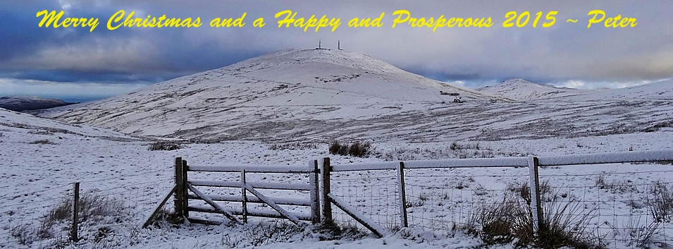 Merry Christmas 2014 © Peter Killey - www.manxscenes.com