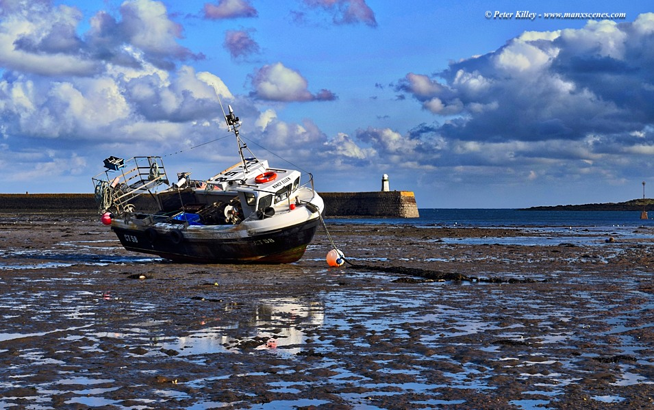 Low Tide at Derbyhaven © Peter Killey - www.manxscenes.com