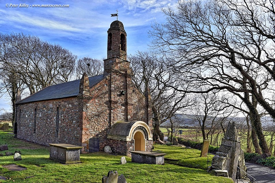 Old Ballaugh Church © Peter Killey - www.manxscenes.com