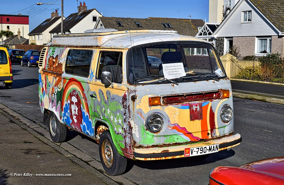 VW Camper Van © Peter Killey - www.manxscenes.com