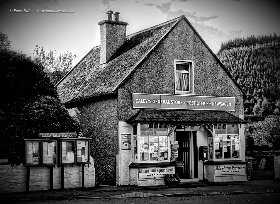 Caley's Store in Sulby © Peter Killey - www.manxscenes.com