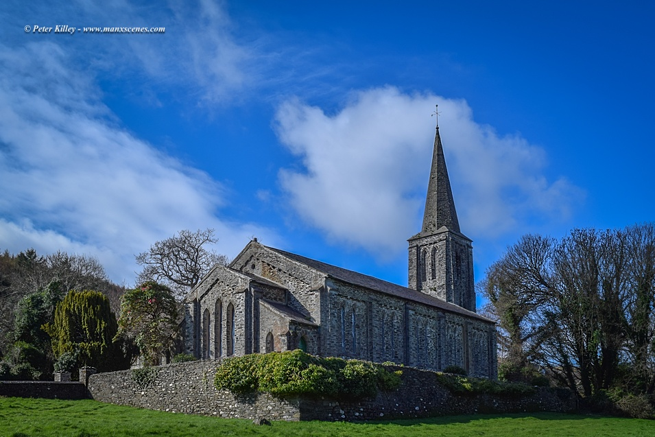 Lezayre Church © Peter Killey - www.manxscenes.com