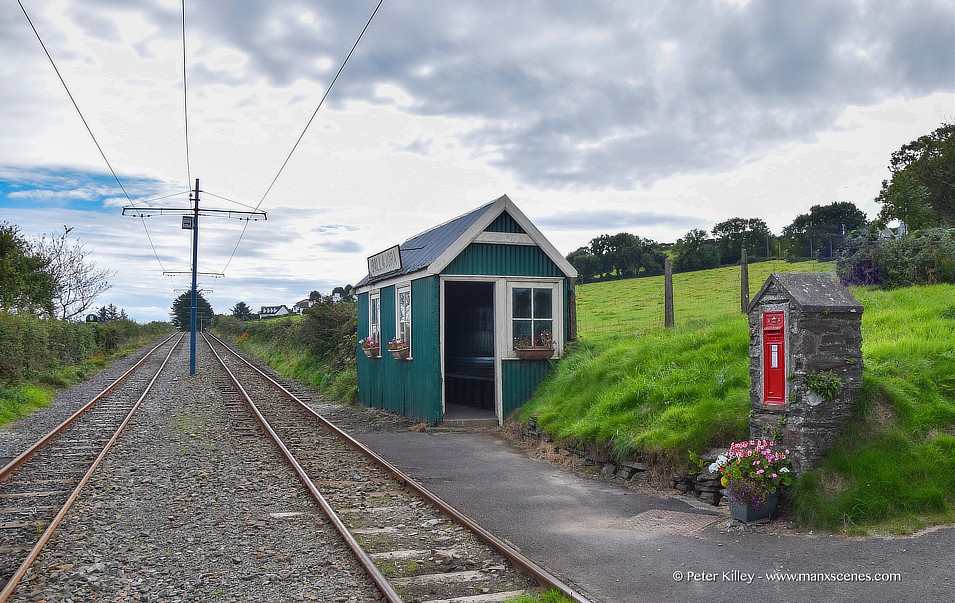 Ballajora Halt in Maughold © Peter Killey - www.manxscenes.com