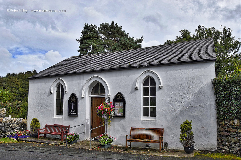 Glen Audlyn Church © Peter Killey - www.manxscenes.com