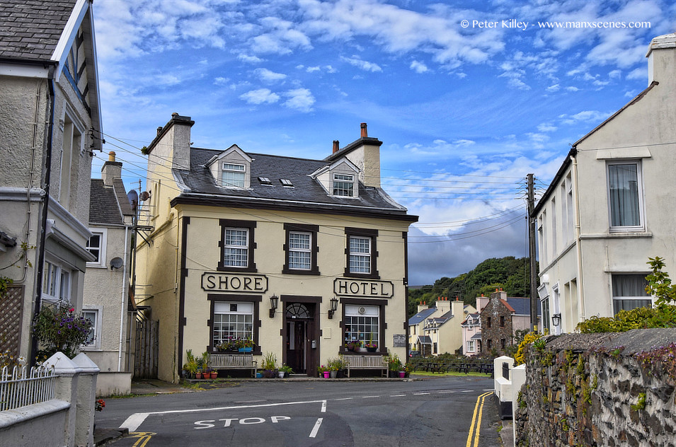Shore Hotel Laxey © Peter Killey - www.manxscenes.com