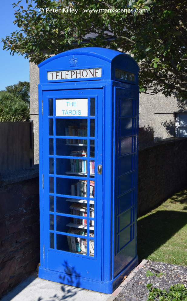 Tardis Peel © Peter Killey - www.manxscenes.com