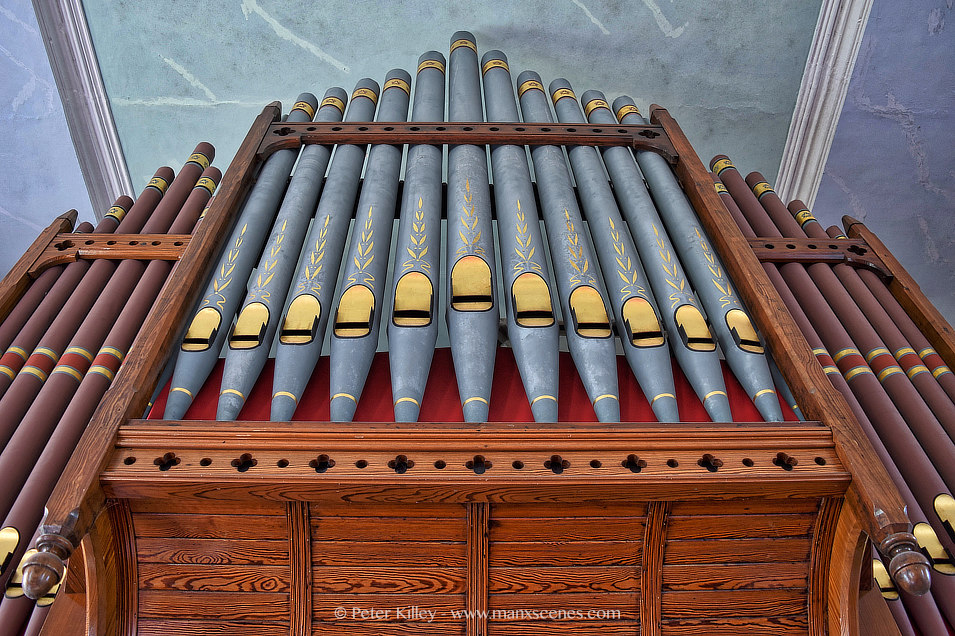 Jurby Church Organ © © Peter Killey - www.manxscenes.com