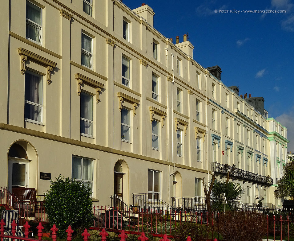 Clarence Terrace © Peter Killey - www.manxscenes.com