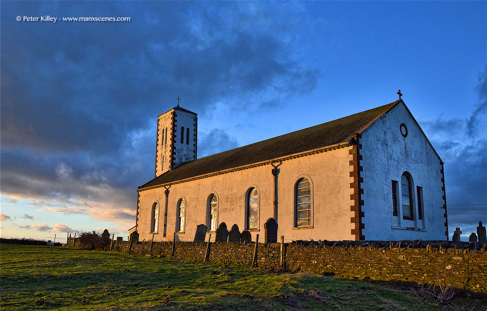 Jurby Church © Peter Killey - www.manxscenes.com