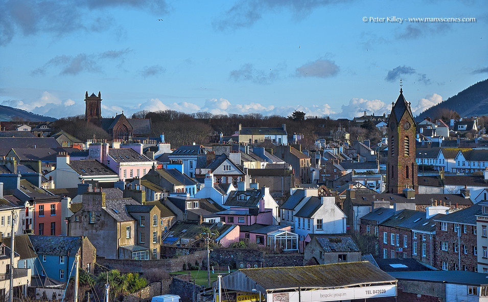 Peel City © Peter Killey - www.manxscenes.com