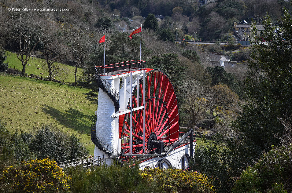 Laxey Wheel © Peter Killey - www.manxscenes.com