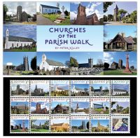 Churches on The Parish Walk by Peter Killey - 2016