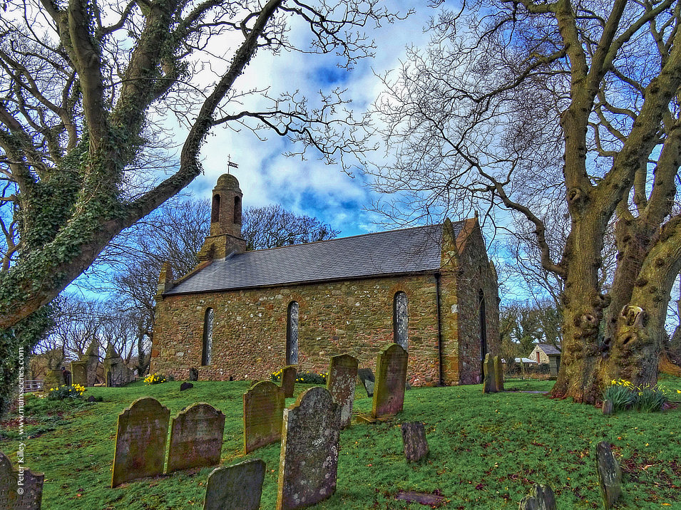 Ballaugh Old Church © Peter Killey - www.manxscenes.com