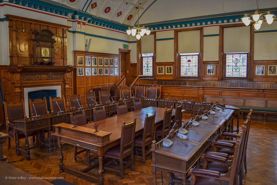 Council Chambers © Peter Killey - www.manxscenes.com