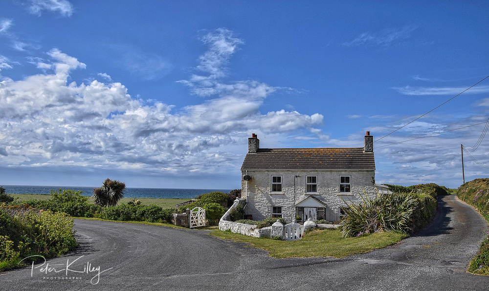 Shore Cottage In Ballaugh © Peter Killey - www.manxscenes.com