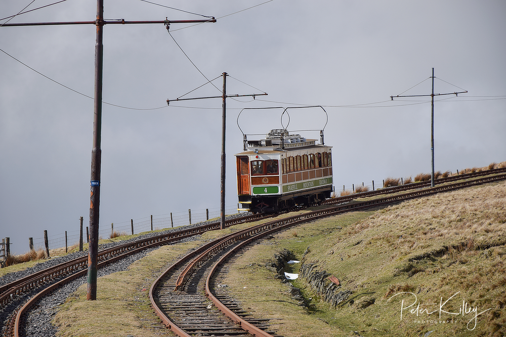 Electric Tram No.4 © Peter Killey - www.manxscenes.com