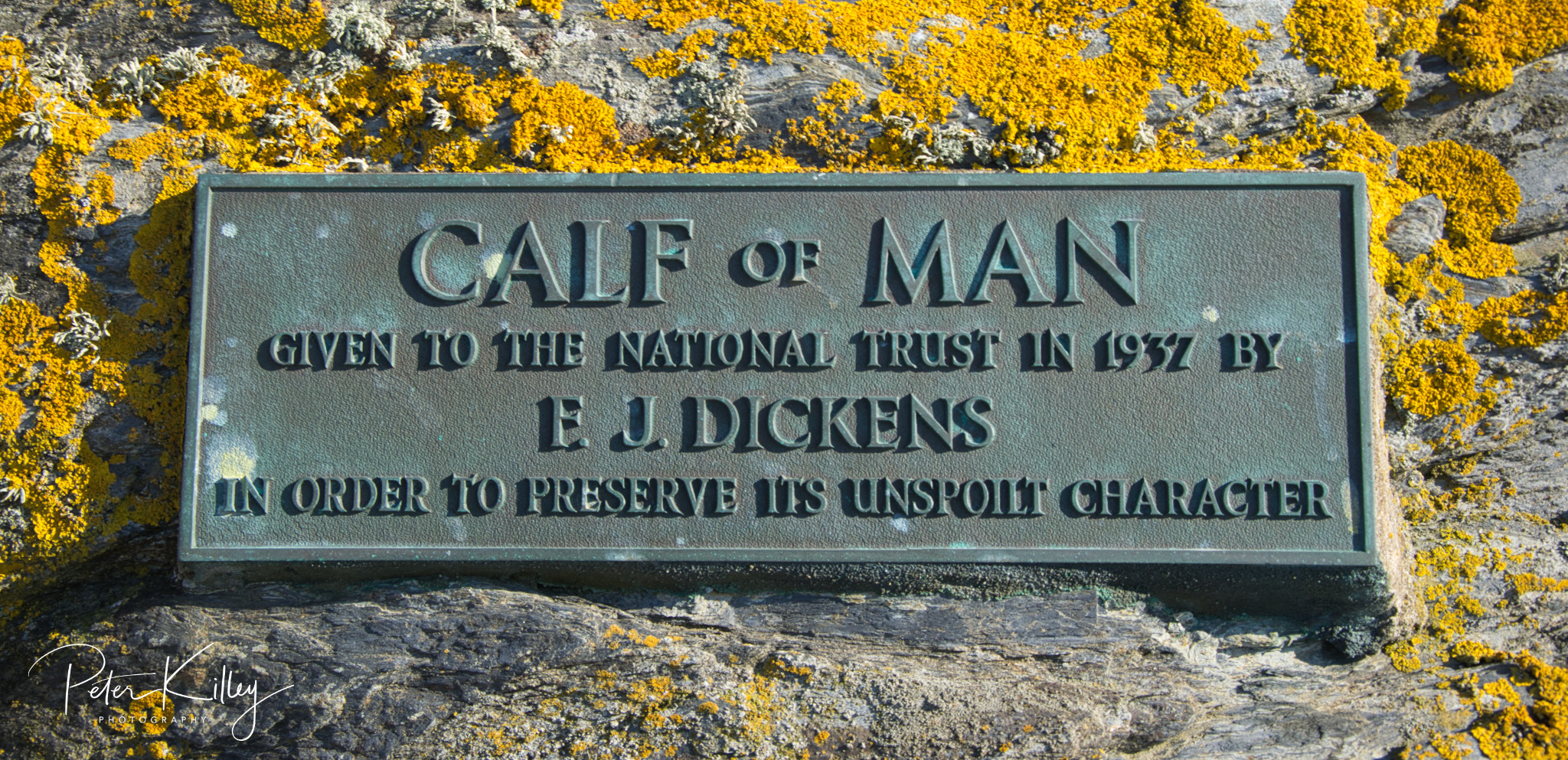 Bronze Plaque - © www.manxscenes.com