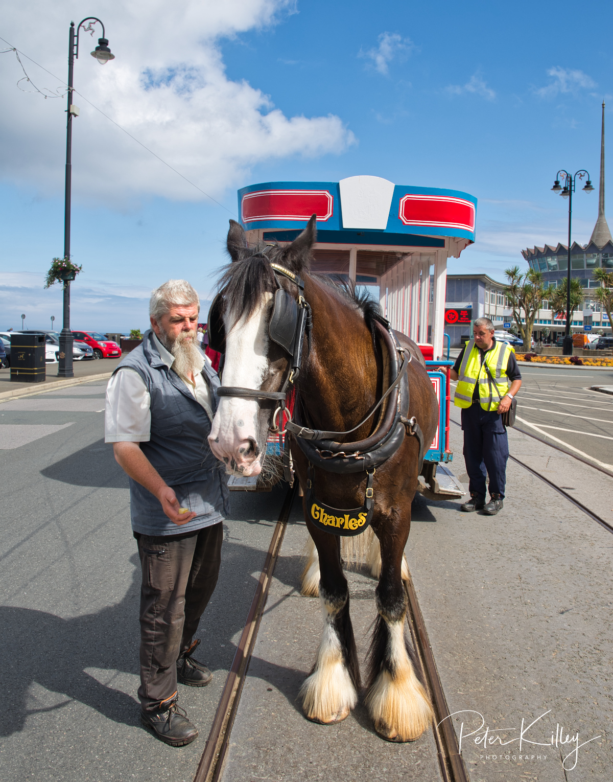 Horse Tram Charles - © Peter Killey - www.manxscenes.com