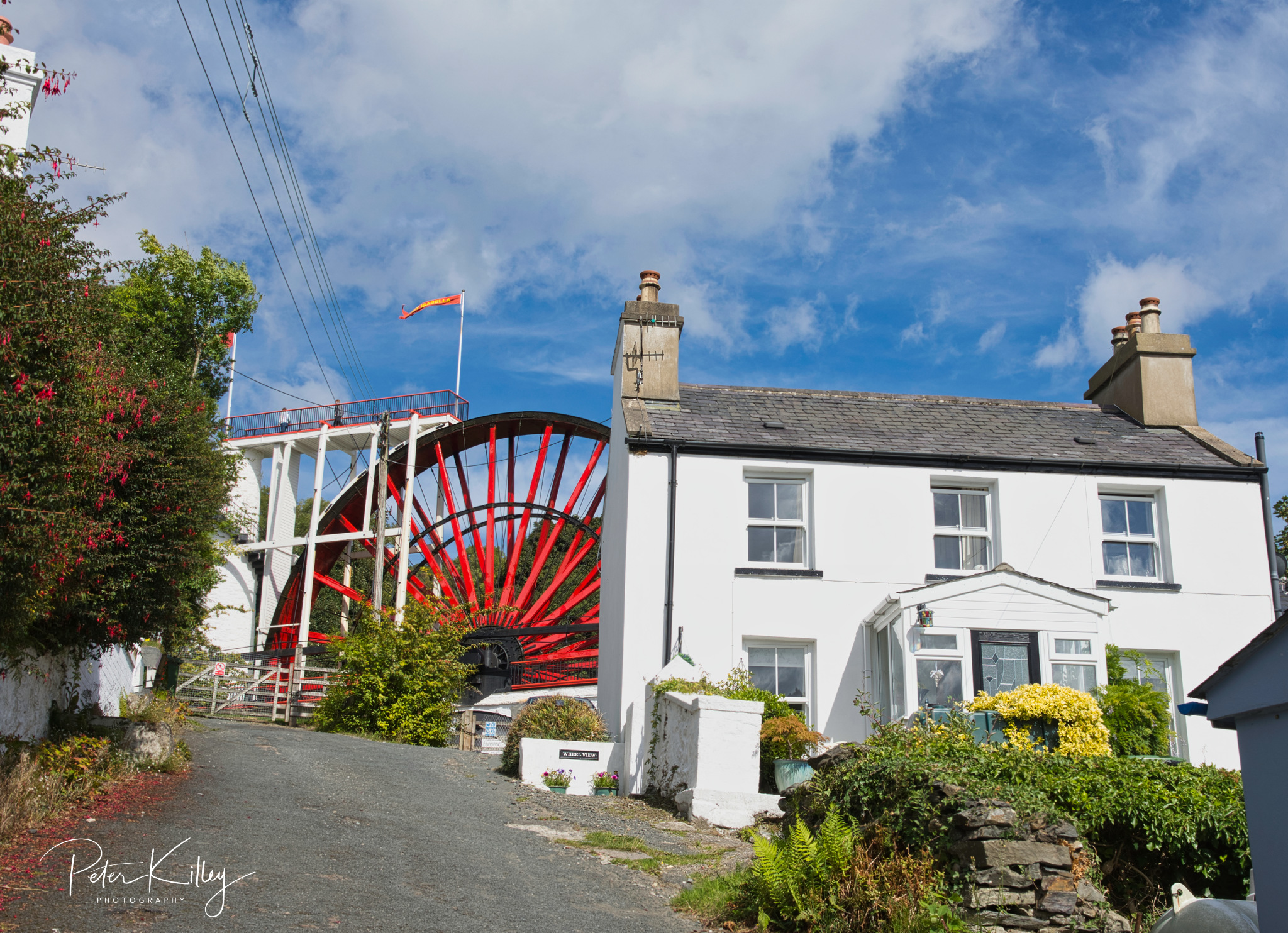 Laxey Wheel - © Peter Killey - www.manxscenes.com