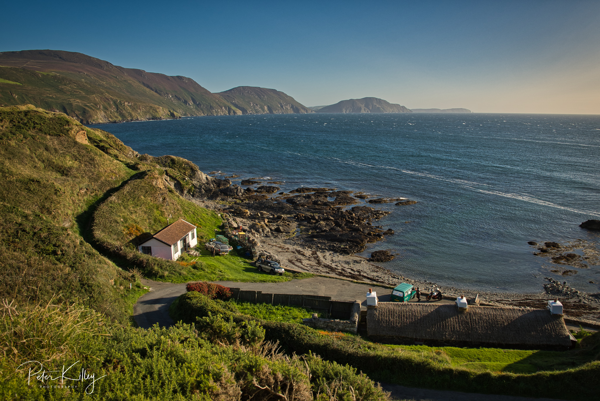 Niarbyl Bay - © Peter Killey - www.manxscenes.com
