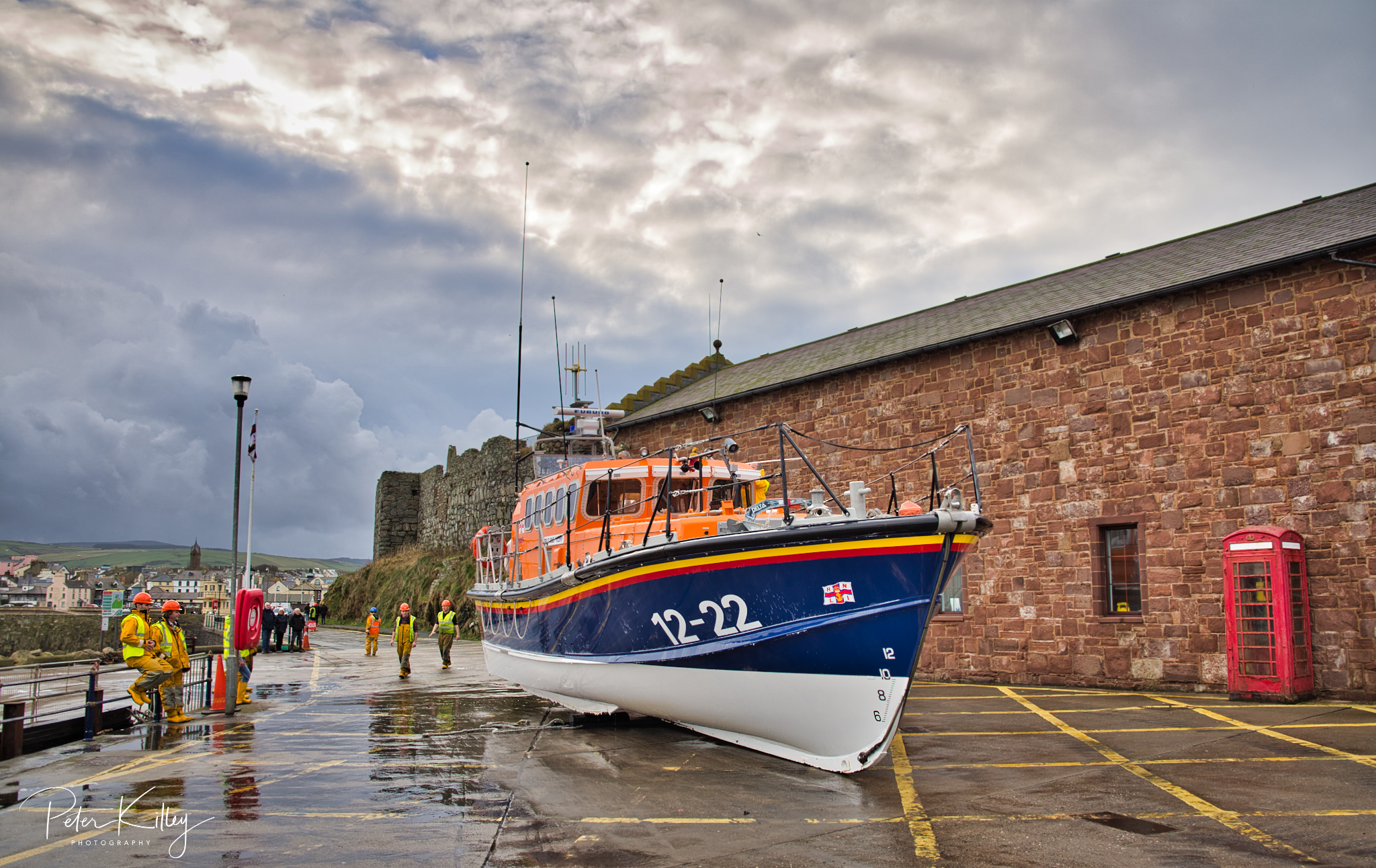 Peel Lifeboat - © Peter Killey - www.manxscenes.com