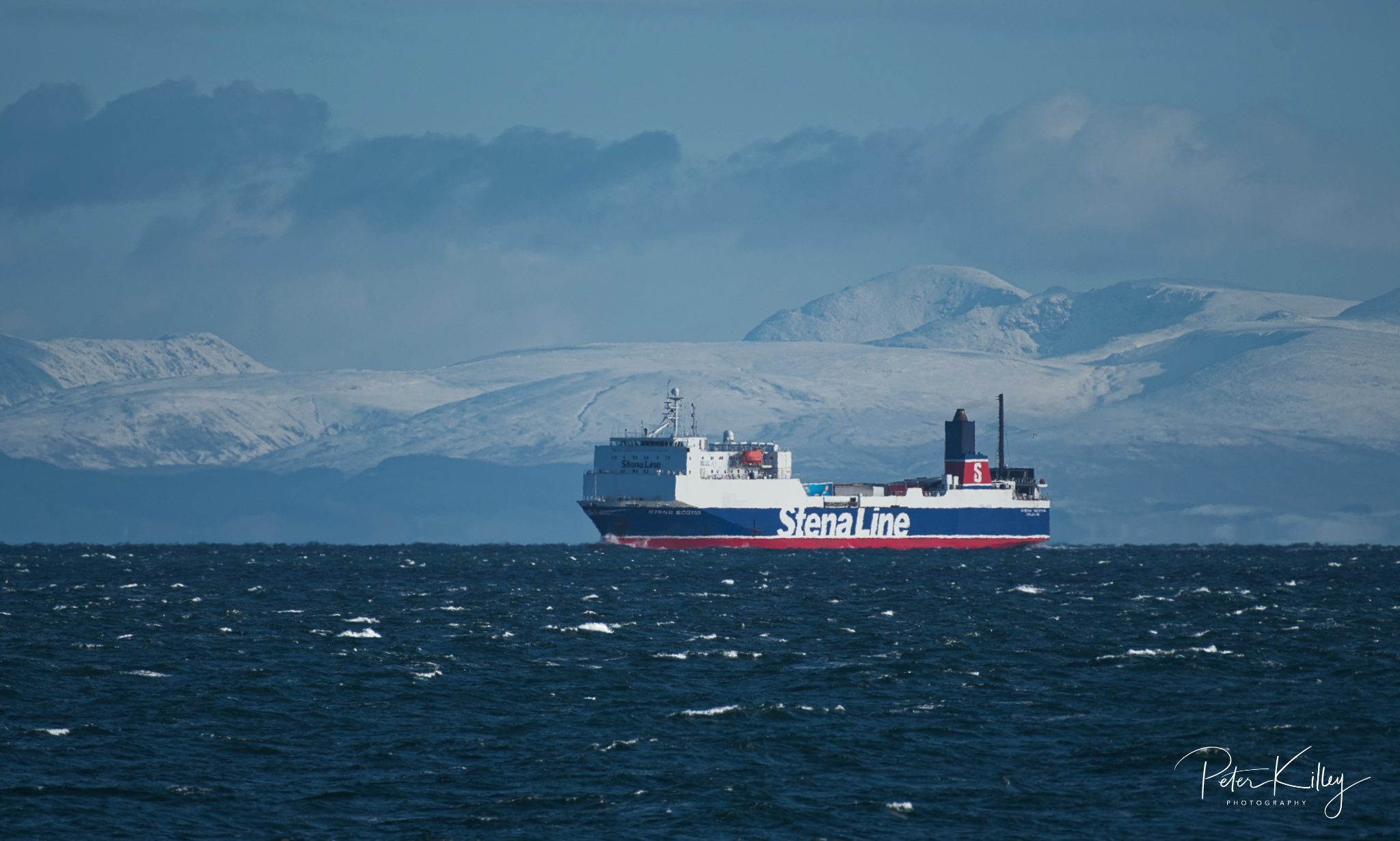 Stena Scotia - © Peter Killey - www.manxscenes.com