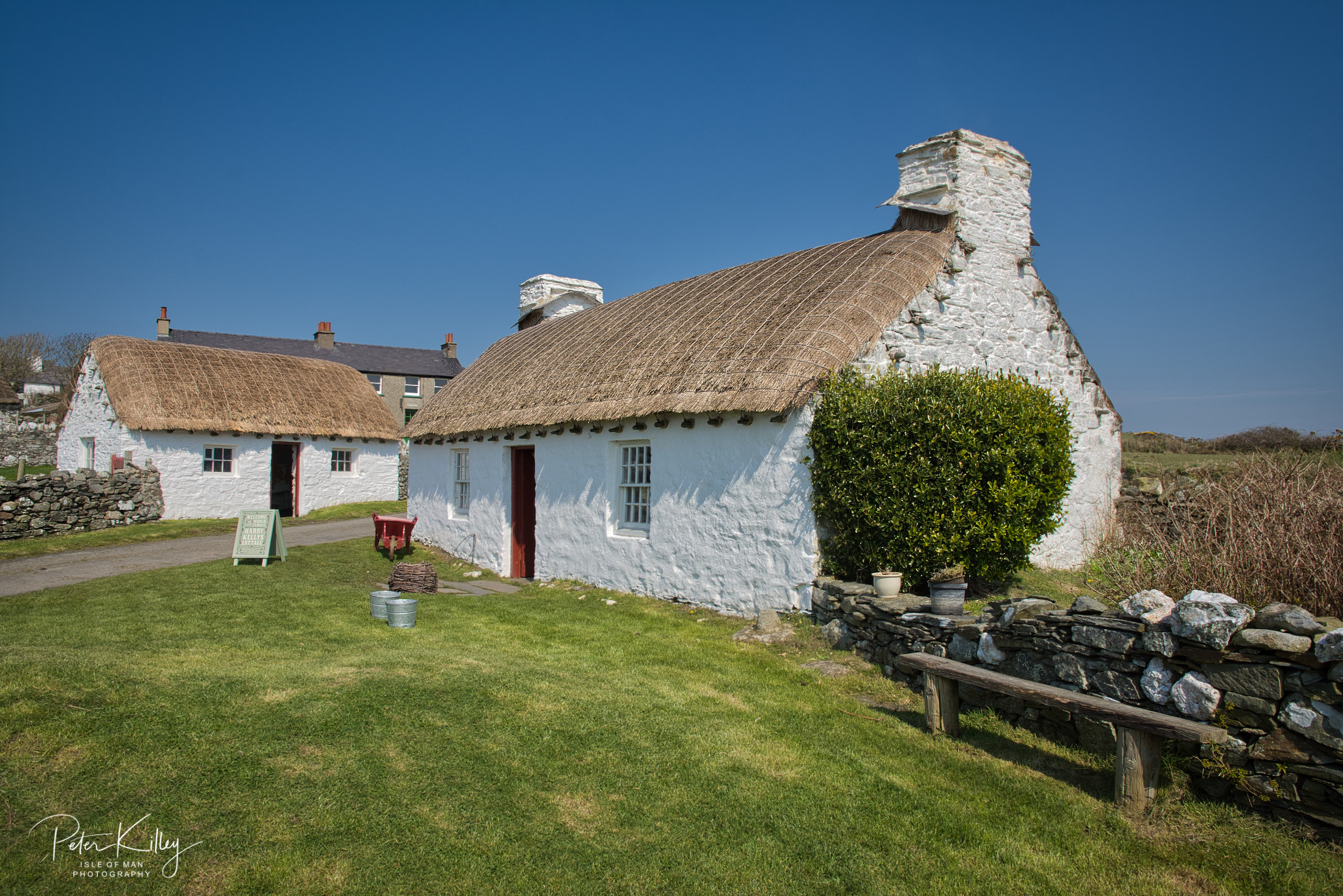 Harry Kelly's Cottage - © Peter Killey - www.manxscenes.com
