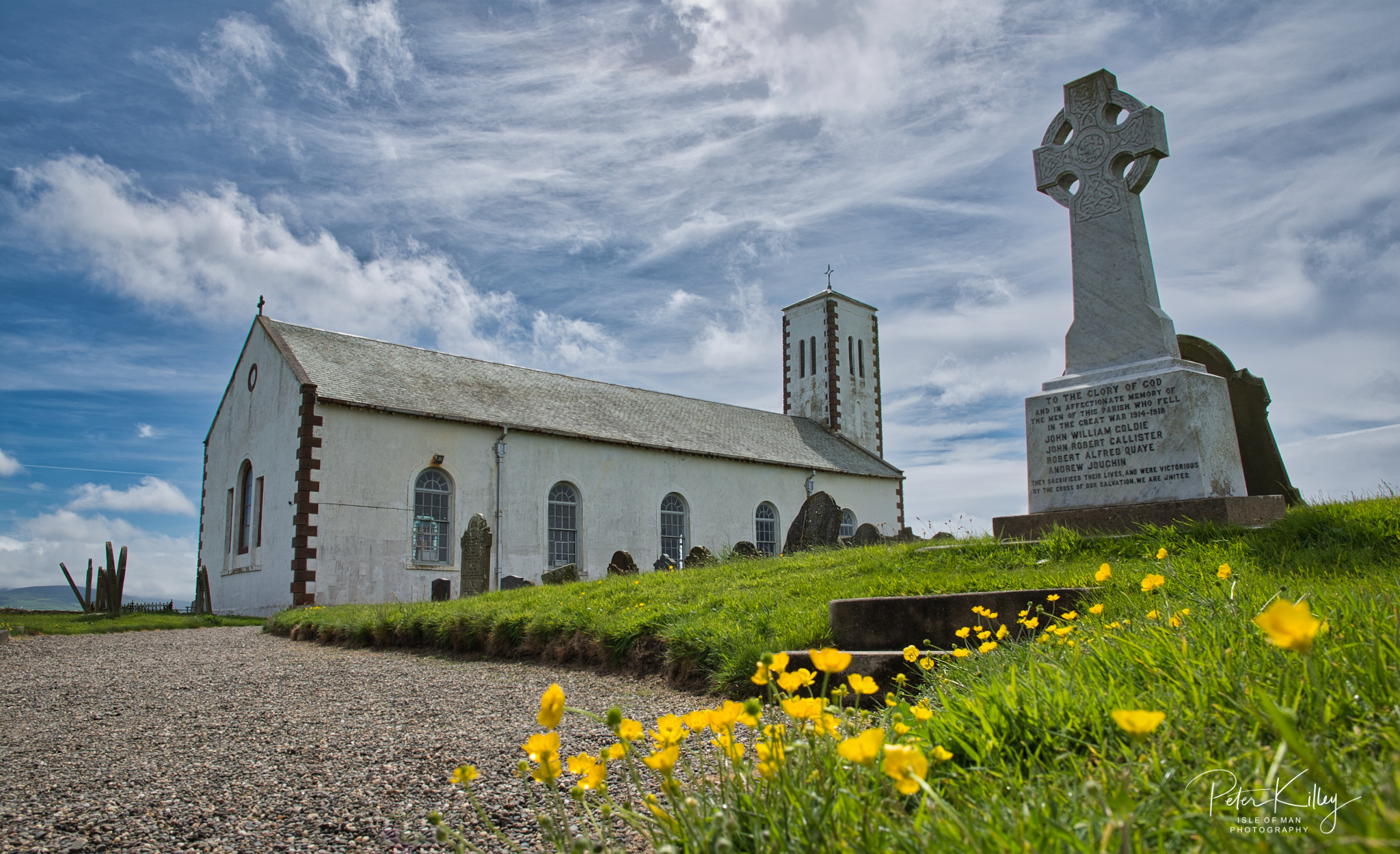 Jurby Church - © Peter Killey - www.manxscenes.com