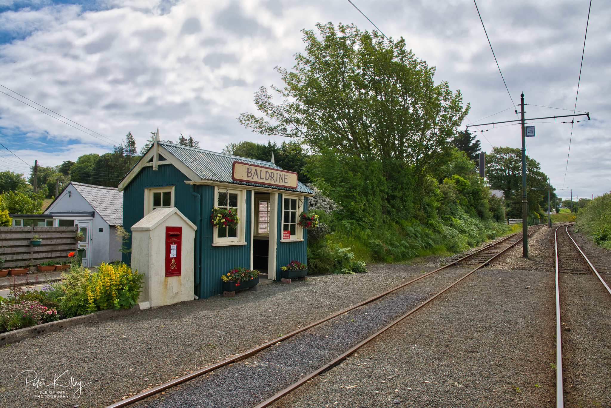 Baldrine Halt - © Peter Killey - www.manxscenes.com