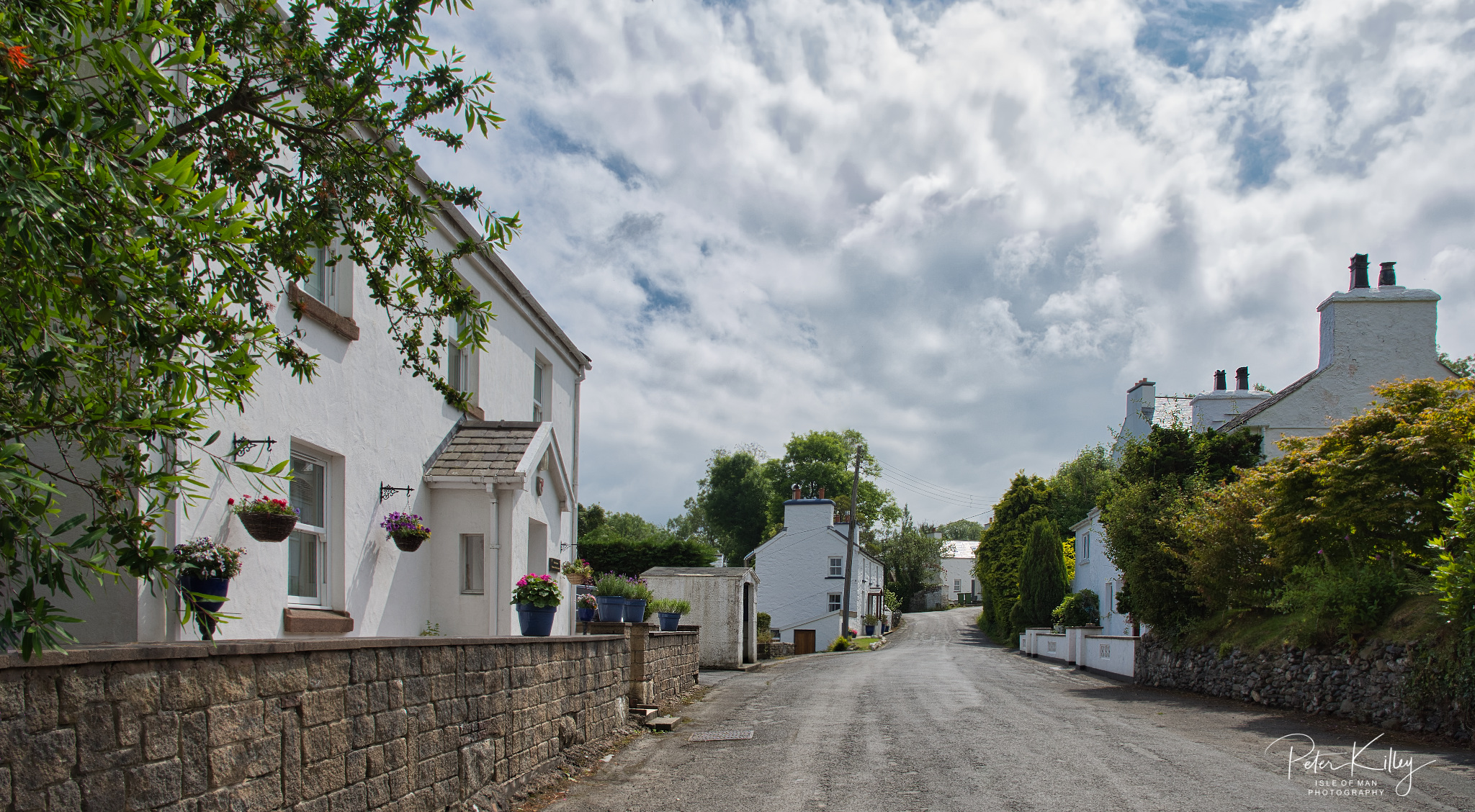 West Baldwin Village - © Peter Killey - www.manxscenes.com