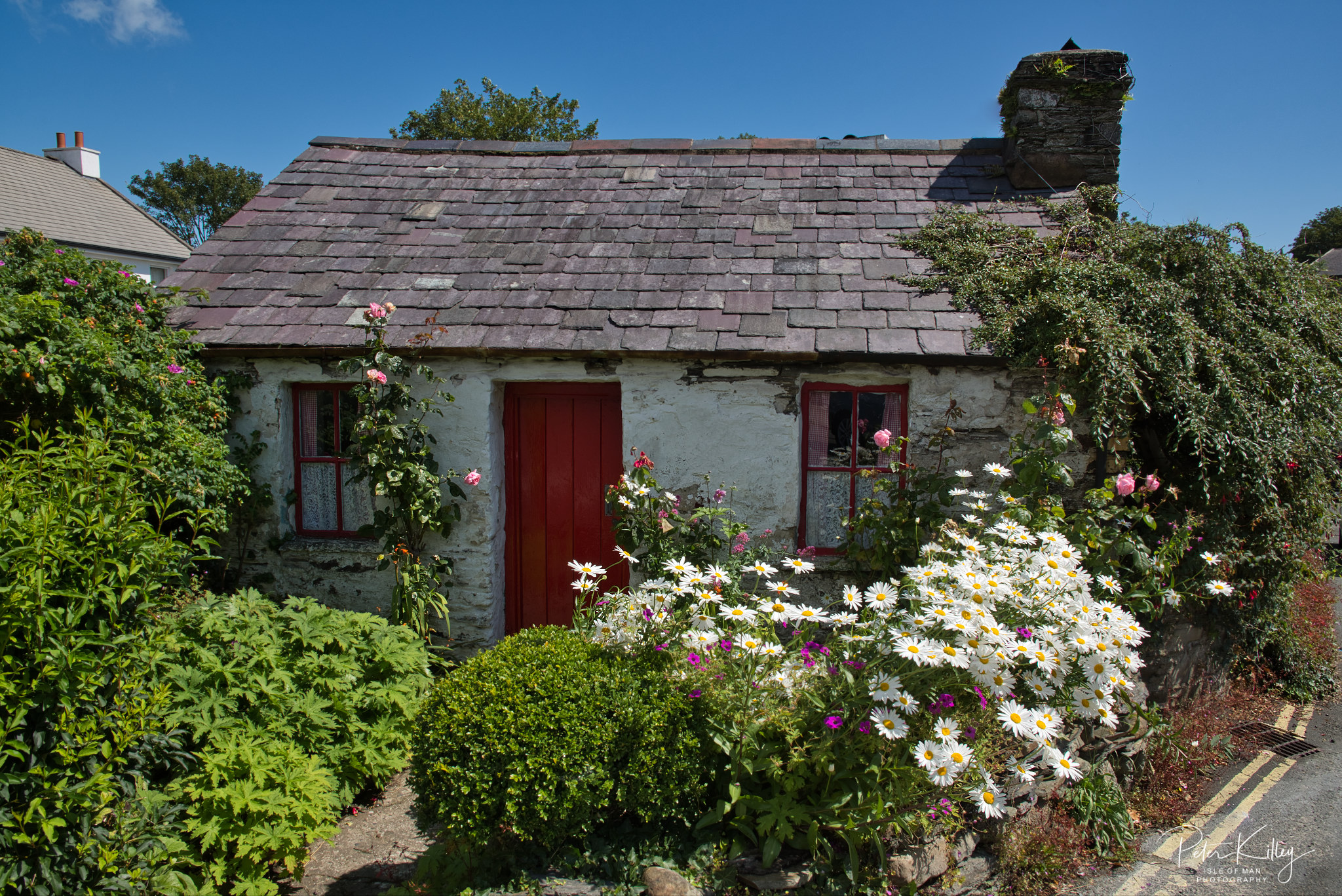 Molly Carrooins Cottage - © Peter Killey - www.manxscenes.com