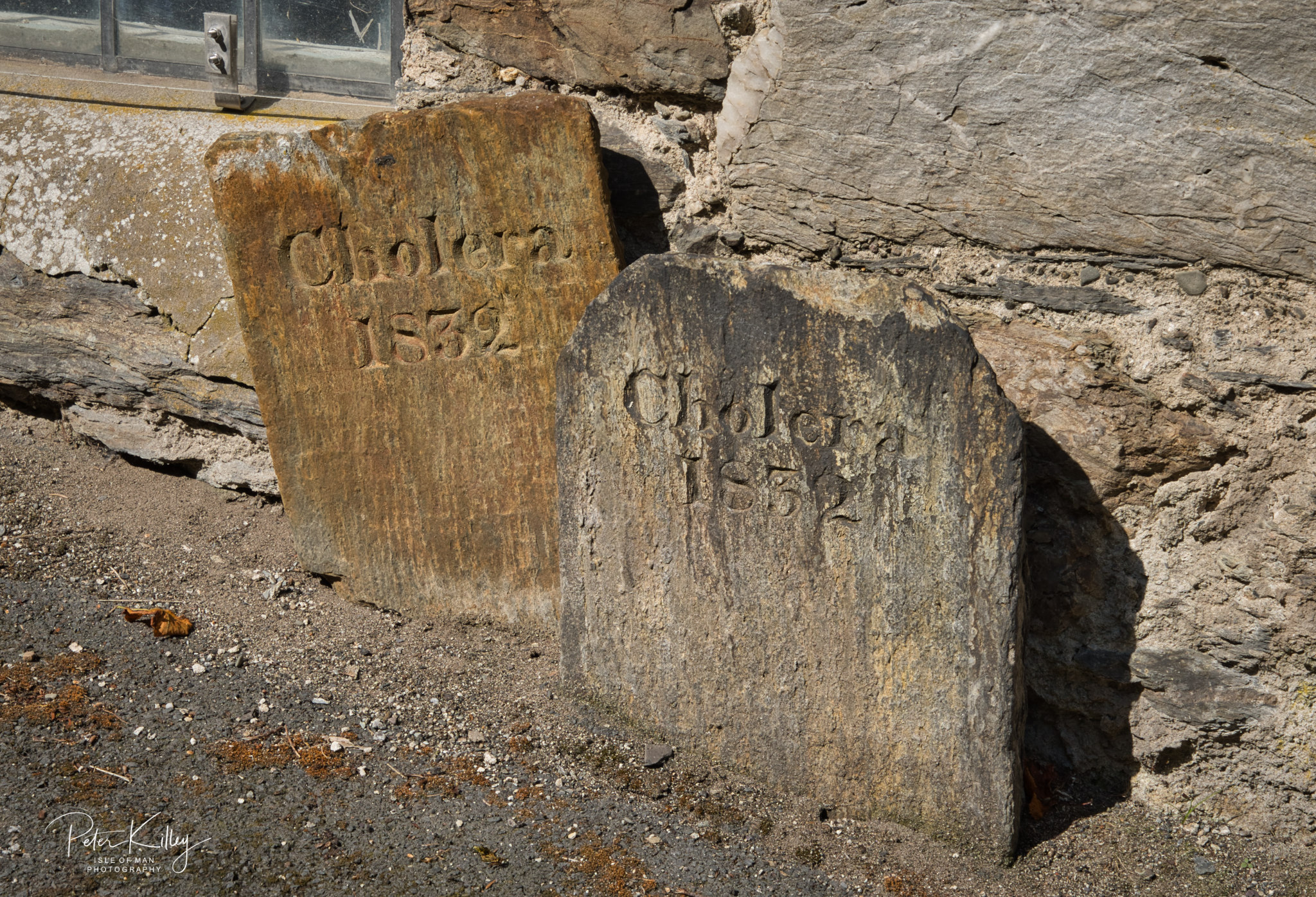 Cholera Headstones - © Peter Killey - www.manxscenes.com
