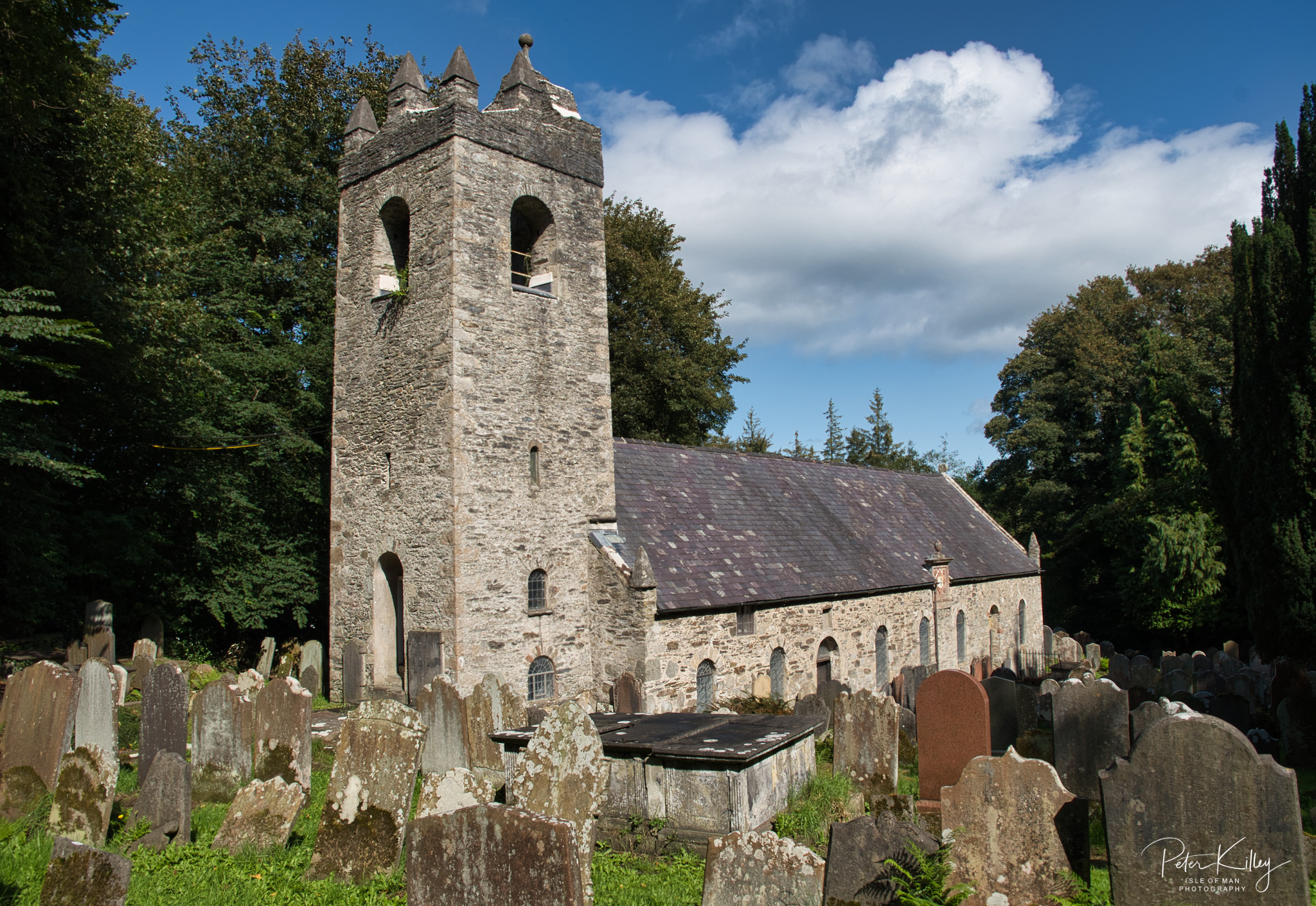 Old Kirk Braddan Church -  © Peter Killey - www.manxscenes.com