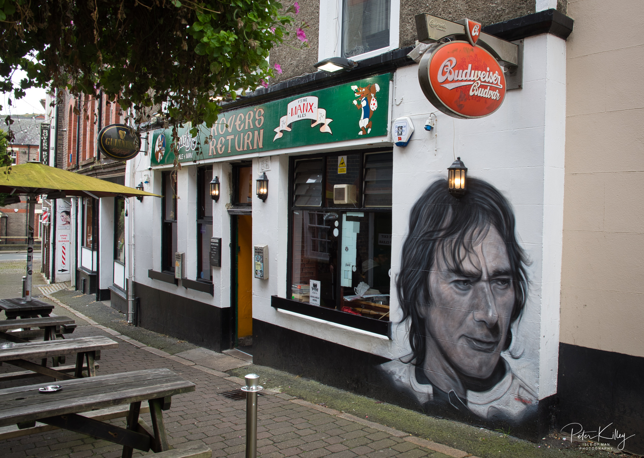 Joey Dunlop, Street Art - © Peter Killey - www.manxscenes.com