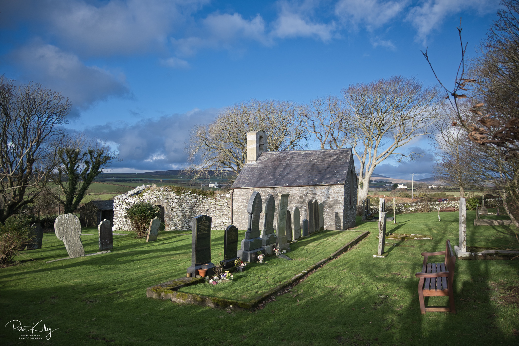 St. Adamnan's Church Lonan - © Peter Killey - www.manxscenes.com