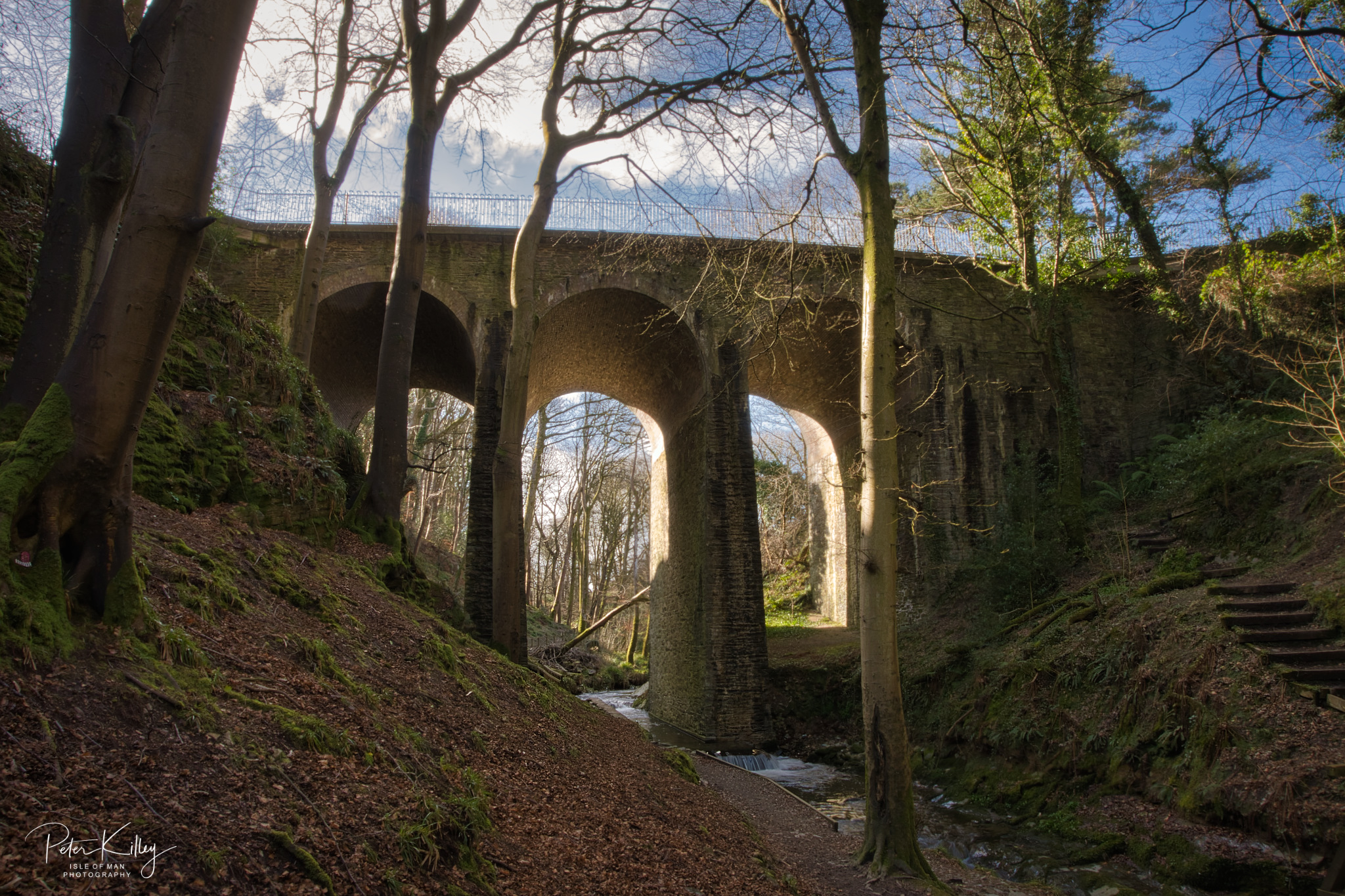Groudle Glen Viaduct - © Peter Killey - www.manxscenes.com