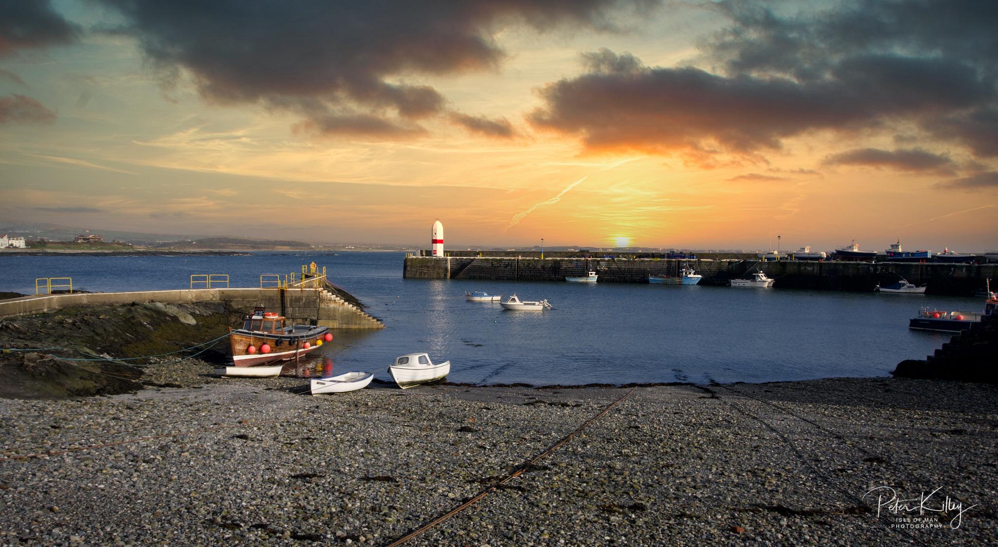 Port St Mary © Peter Killey - www.manxscenes.com